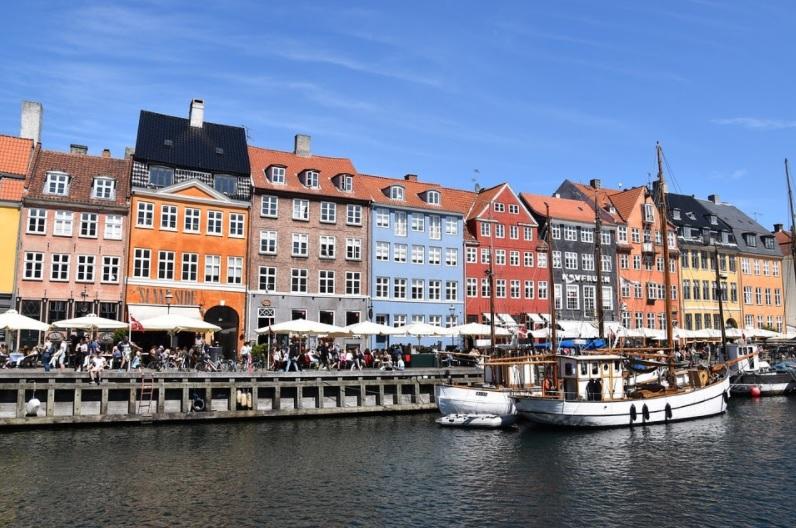 Fahrradstadt Kopenhaben - Bicycle city Kopenhagen