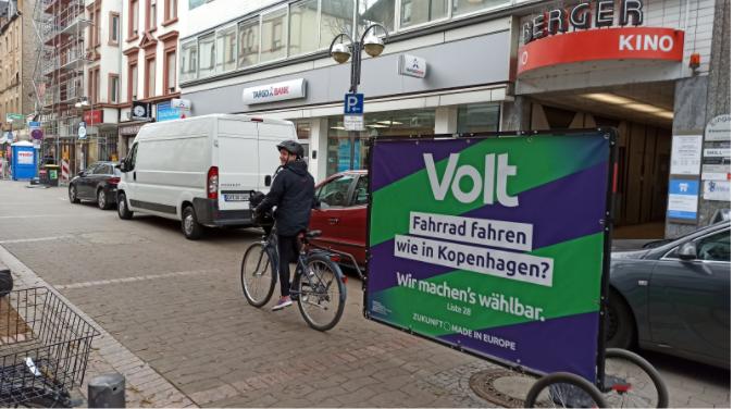 Wahlkampf in Frankfurt/Main 2021