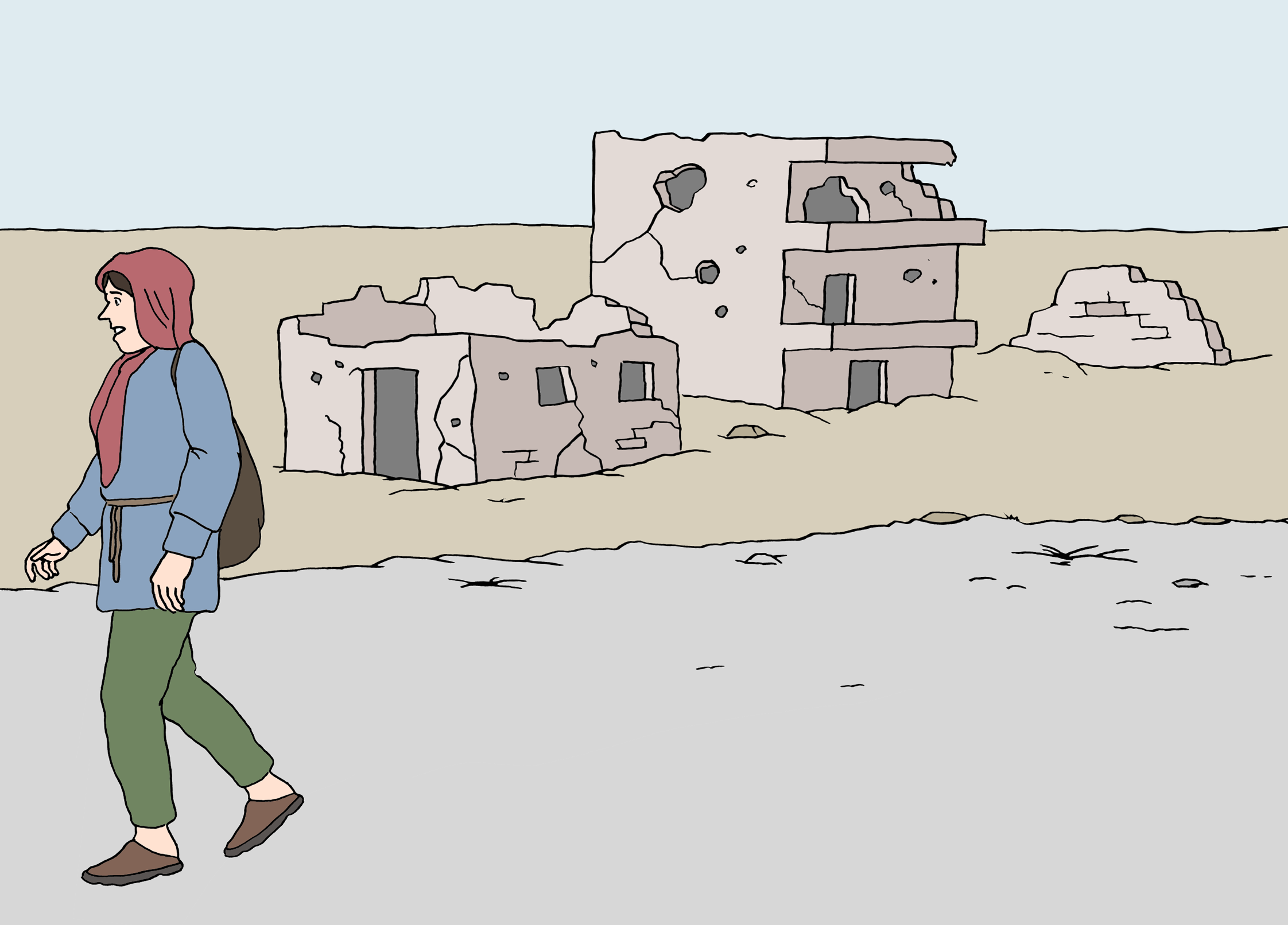Flüchtling - Fugitive - Leichte Sprache