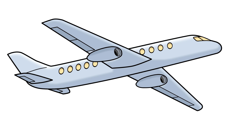 Flugzeug - Airplane -  Leichte Sprache