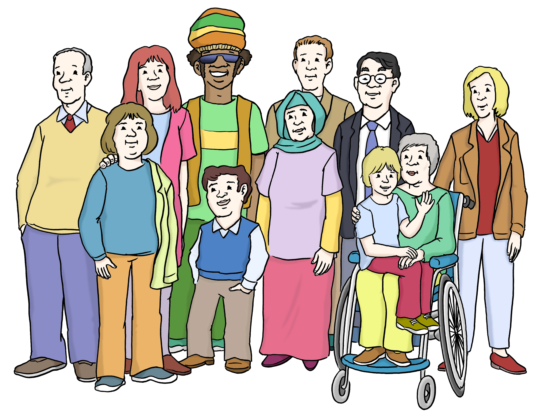 Inklusion - Inclusion  - Leichte Sprache