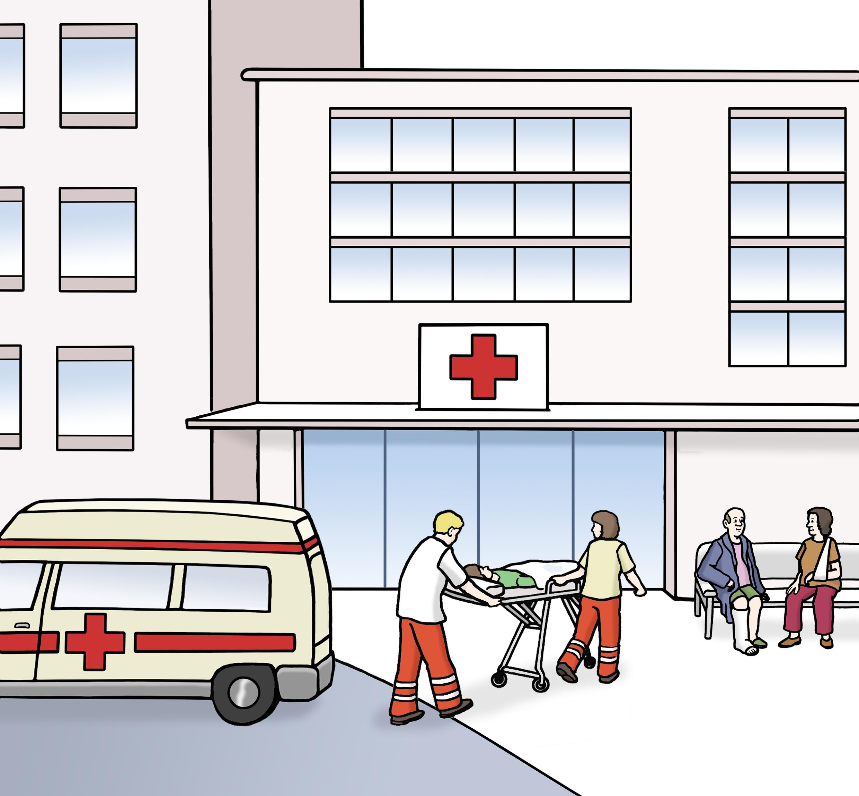 Krankenhaus - Hospital - Leichte Sprache