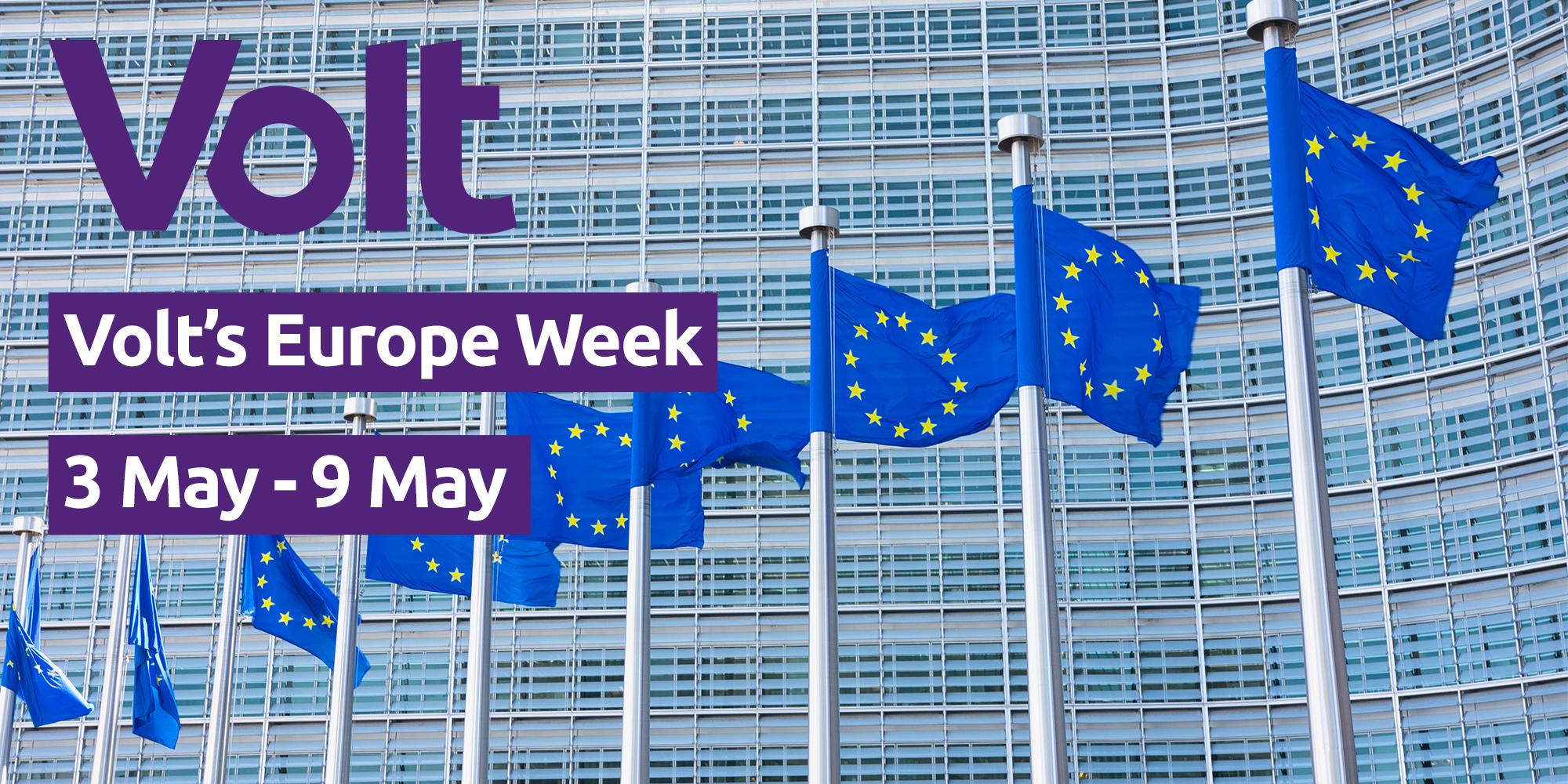 Volt's Europe Week