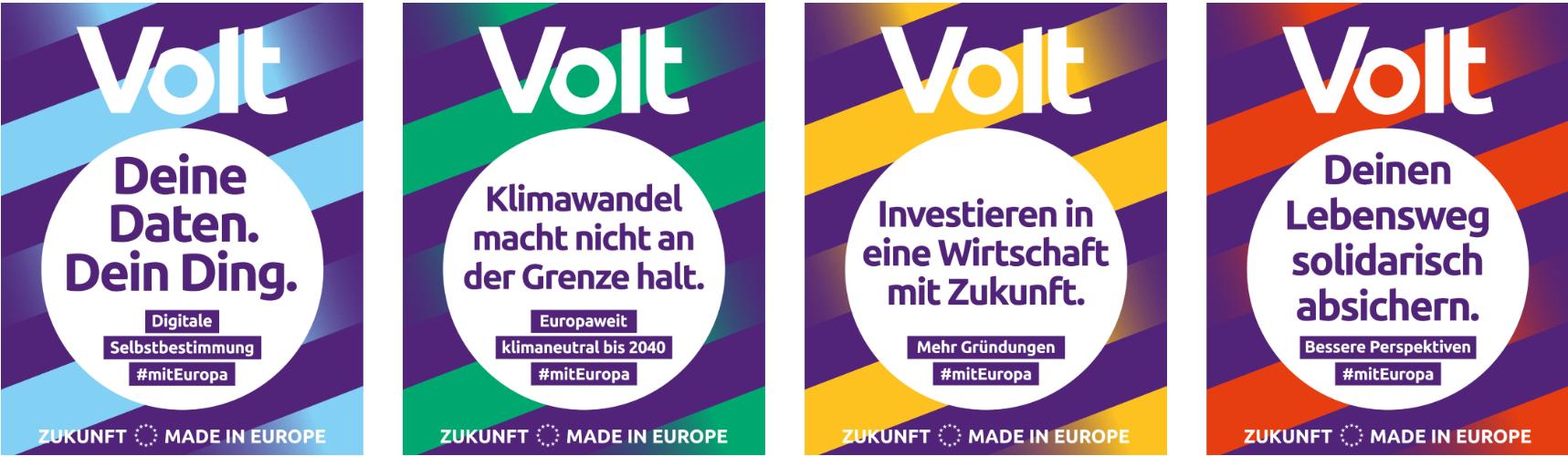 Gute Gründe Volt zu Wählen - Bundestagswahl