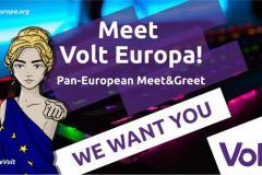 Meet Volt Europa logo
