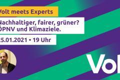 Volt Meets Experts - Klima - Januar 2021