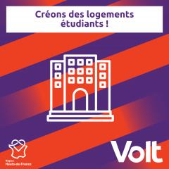Programme Hauts-de-France - Logements étudiant