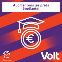 Programme Hauts-de-France - Prêt édudiant