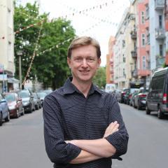 Hans-Günter Brünker - Spitzenkandidat Volt Deutschland