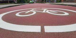 Fahrradstraße in Münster