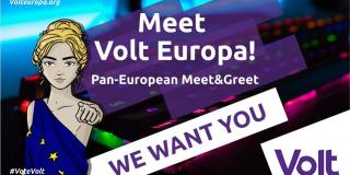 Meet Volt Europa every month on the 22nd