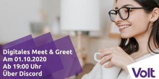 Meet and Greet am 01.10.2020