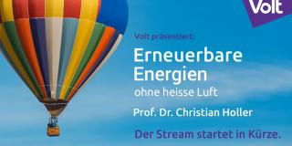 Dr. Christian Holler spricht bei Volt München