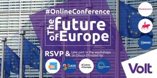 Online conference on the future of Europe