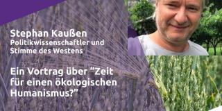 Volt meets Experts -  Ökologischer Humanismus