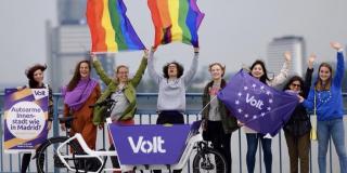 Politik weiblicher mit Volt