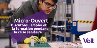 Micro-Ouvert : Discutons l'emploi et la formation