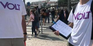 Recolha assinaturas Volt Portugal