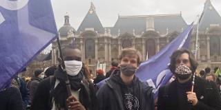Lille - Manifestation Loi Climat