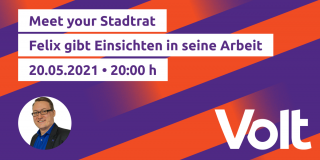Meet Your Stadtrat im Mai