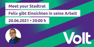 Meet Your Stadtrat im juni