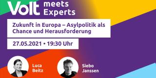 Volt meets Experts - Asylpolitik