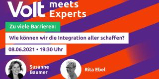 Volt meets Experts - Barrierefreiheit
