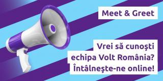 Online Meet & Greet Volt România