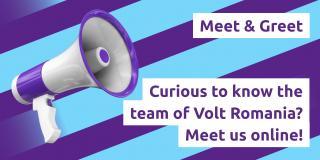 Online Meet & Greet Volt Romania