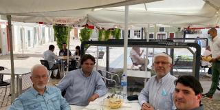 Almoço entre partidos Coimbra