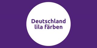 Deutschland lila färben