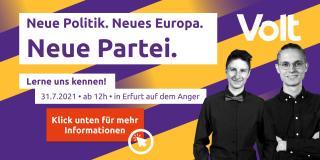 Kampagnenauftakt auf dem Anger in Erfurt