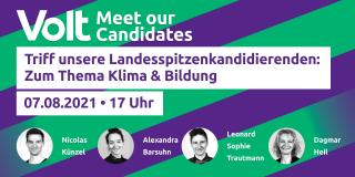 Kandididierende Kampagnenfestival