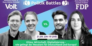 Logo Poltik-Battle am 21.09.2021