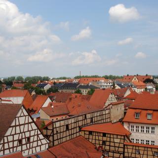 Häuserdächer