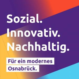 Titelseite Flyer zur Kommunalwahl 2021 in Osnabrück