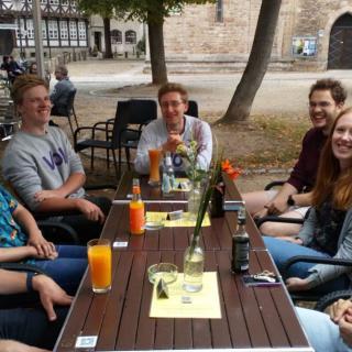 Meet & Greet in einer Bar