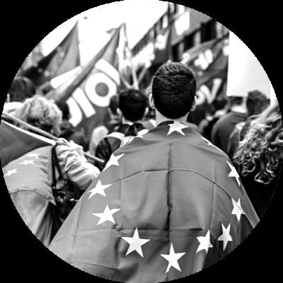 Manifestation pour l'Europe