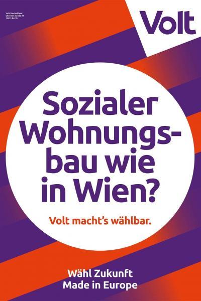 Sozialer Wohnungsbau wie in Wien