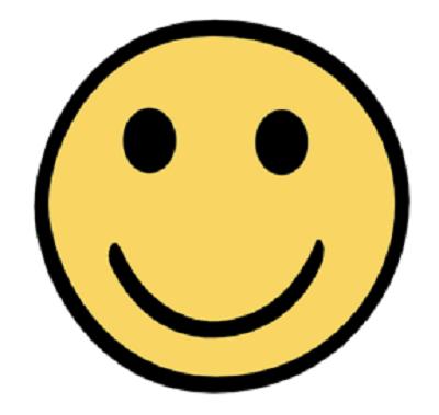 Leichte Sprache - Smiley