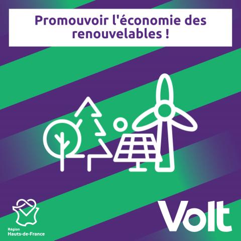 Programme HdF - Les renouvelables