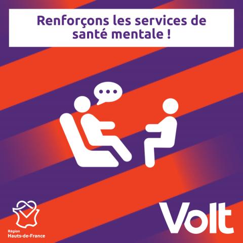 Programme Hauts-de-France - Service santé mentale