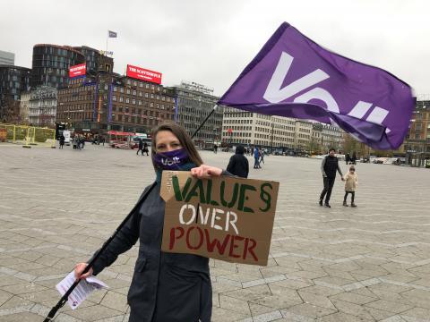 Kathrine Richter - Values Over Power