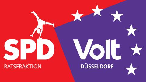 Logo der SPD Volt Stadtratsfraktion Düsseldorf