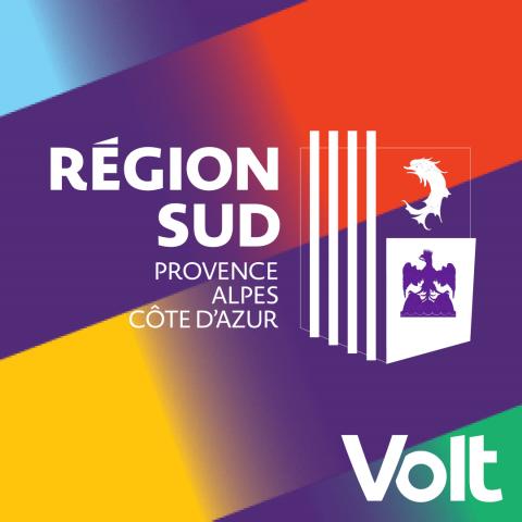 Volt PACA - Élections Régionales 2021