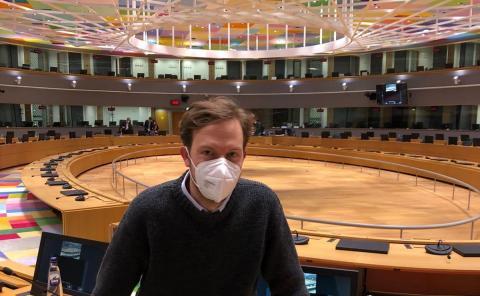 Damian Boegelager, MEP Volt