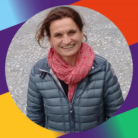Karin Langer blickt optimistisch in die Zukunft mit Volt.