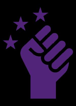 Citizen empowerment icon