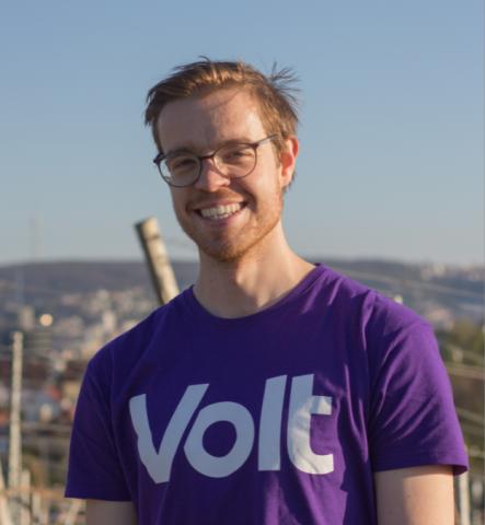 Markus Wiesenmayer - Community-Lead von Volt Stuttgart
