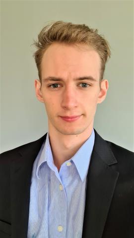 Maximilian Cwalina, Data Analytics Lead Volt Düsseldorf